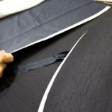 『セミオーダースカートの裁断と明日の縫製準備』の画像