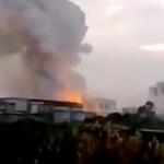 【動画】中国、また化学工場が爆発、火災!ネットで爆発のニセ映像が拡散し混乱 [海外]