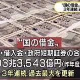 『【疑問】日本の借金1,100兆円超えで過去最大!債務大国日本はなぜ国家破綻しないのか。』の画像