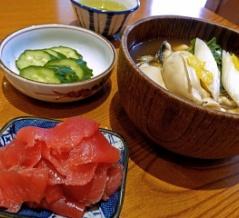 かき豆腐、ほか@「天房」