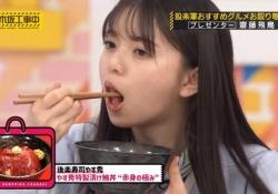 【画像】斎藤飛鳥がマグロ丼食べてるだけなのにこうも◯◯だとは.........
