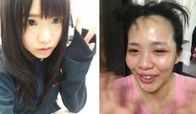 【日本の芸能】   日本のアイドル AKB48 のスッピンが衝撃的すぎる。   海外の反応