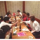 『本社・沖縄営業所の歓送迎会』の画像