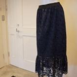 『B DONNA (ビドンナ)ケミカルレーススカート』の画像