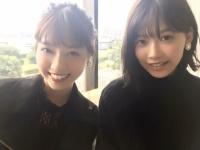 ノンノ12月号、乃木坂46西野七瀬・欅坂46渡邉理佐が初共演!(画像あり)