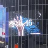 『緊急速報!!!欅坂46『櫻坂46』へ改名を正式発表!!!!!!!!!!!!渋谷スクランブル交差点 巨大ビジョンで公開へ!!!』の画像