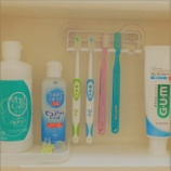 『歯ブラシの収納』の画像