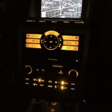 『ムラーノZ50 エアコン&オーディオパネル LED交換 ビフォー&アフター』の画像