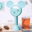 【速報】In Red (インレッド) 2021年 8月号増刊 《特別付録》 ミッキーマウスデザイン 手持ちと卓上で使える 羽根のない扇風機