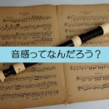 『音感とは何なのかを考える~音感を身に付けるのに適した楽器~』の画像
