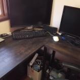 『L字デスク用の「棚」をDIY』の画像