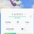 【ポケモンGO】伝説レイド、トルネロスお別れ会【単飛行最強】