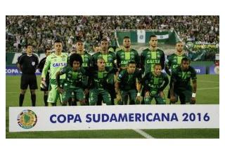 【衝撃】ブラジルサッカー選手の乗った旅客機墜落