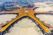 【中国】世界一の北京大興国際空港が9月25日オープン 乗降客数1億人見込む 総事業費6兆円 滑走路は8本 人民解放軍も運用