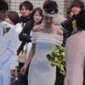 ミス&ミスター東大コンテスト2011 その12(加納舞(ミス東大2010)・ウェディングドレス)