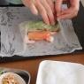 【レシピ】グレフルの生春巻きと自家製スイートチリソース