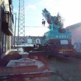 『2020年01月11日   タワー建立作業:弘前市・三和』の画像