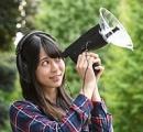 これすげえ 上海問屋、100m先の音も聞き取れる望遠スコープ内蔵パラボラ集音器 4999円(税込)