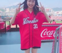 『【Juice=Juice】段原瑠々が広島・マツダスタジアムで国歌斉唱の大役きたああああああああ!!!!!!』の画像