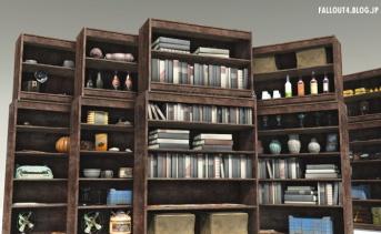Workshop Decorated Bookcase Doors
