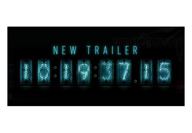 野村哲也「FF7の新映像を公開します、公開タイミングはカウントダウン開始をお待ち下さい」