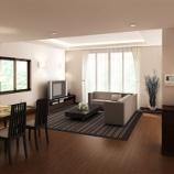 『縦長リビングにどうやって家具を配置する?縦長リビングレイアウト 【インテリアまとめ・リビング 例 】』の画像