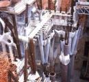 サグラダ・ファミリア、作業効率化の為に鉄筋コンクリートを使用。スピード竣工へ