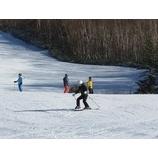 『初滑りスキーキャンプ4期スタート。天気に恵まれています。』の画像