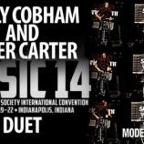 『【海外】ドラムセット&マーチングスネアの競演!  2014年PASIC『ビリー・コブハム&ロジャー・カーター』デュエット動画です!』の画像