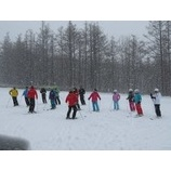『出直しスキーレッスンスタート』の画像