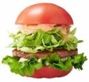 モスバーガーがトマトで具材挟んだトマトバーガー発売 沖縄で3日間限定