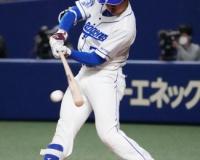 【朗報】福留、オープン戦初安打は代打2ラン 本拠地で復帰挨拶代わりの一撃!