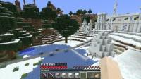西大陸に雪屋を作る