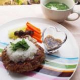 『薬膳レシピ「セロリのおろしハンバーグ&豆腐とセロリの葉のスープ」作りました♪』の画像
