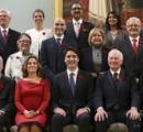 カナダ閣僚が凄い。 男女同数、ゲイ大臣、ムスリム大臣、盲目大臣、先住民大臣。首相47歳(就任時43歳)