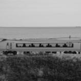 『運行終了する651系の普通列車』の画像