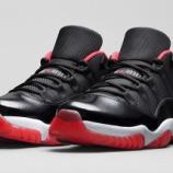 『直リンク・店舗情報更新:Air Jordan 11 Low 'True Red' 2015/5/23発売』の画像