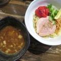 RAMEN CIQUE@阿佐ヶ谷 「豚骨魚介つけ麺+焼きトマト、塩ラーメン+バター+コーン、ほか」