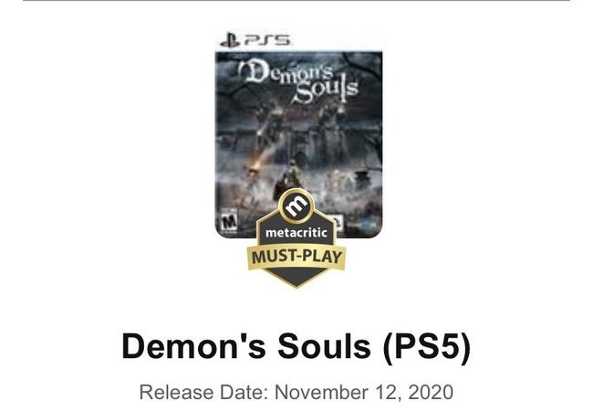 【朗報】PS5版デモンズソウル、2020年のGOTY獲りそう