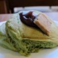 【京都 四条・烏丸】うめぞの CAFE&GALLERY 抹茶のホットケーキ