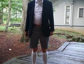 【画像】それでは安倍総理の私服をご覧ください