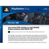 『PS4の次期メジャーアップデートは、シェアの拡大機能とHDCPオフ機能の追加等で期待できそうだ。』の画像