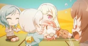 【ガルパ☆ピコ~大盛り~】第5話 感想 砂漠でも風流に野点【BanG Dream!】