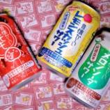 『【飲んでみた】チキンライスのケチャップ味が蘇る!合同酒精「昔懐かしいサワー」シリーズ』の画像