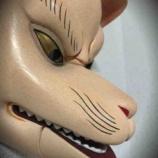 『神楽での狐面 追記』の画像