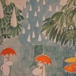 『雨の日・ムーミン展』の画像