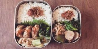 同棲してた頃、大きさの違うお弁当二つ並んでるの好きだったなぁ。一緒に生活してるーって感じで。