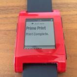 『iPhone/iPadからPrime Printで印刷+pebble』の画像