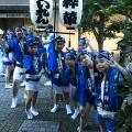 The Awn Odori festival on Kagurazaka in 2019