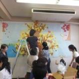 『こんにちは、はっぱのおうちです(その1)「秋の壁面装飾ができました!」』の画像